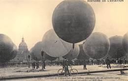Paris - Concours De L'Aéro-Club Pour Ballons Sphériques à L'esplanade Des Invalides - Cecodi N'P80 - Montgolfières