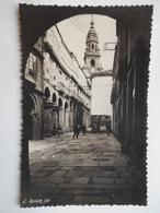 """CPSM """"Santiago De Compostela - Rua Del Villar"""" - Santiago De Compostela"""