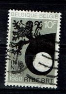 10F RTBF-BRT Uit 1980 (OBP 1995 ) - België