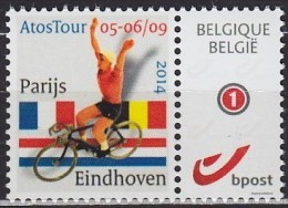 2014 BELGIQUE Belgium Paris Eindhoven ** MNH Vélo Cycliste Cyclisme Bicycle Cycling Fahrrad Radfahrer Bicicleta C [bz103 - Ciclismo