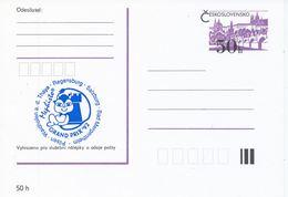 J0876 - Cecoslovacchia / Interi Postali (1992) Torneo Internazionale Di Scacchi Mephisto GRAND PRIX '92 (blu) - Scacchi