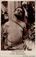 CINÉMA : IVAN MOSJOUKINE Dans MICHEL STROGOFF - CARTE VRAIE PHOTO : MONOPOL LUX FILM - ROUMANIE ( 1926 ) - RRR ! (aa667) - Attori