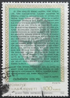 1968 TURKEY 30th Death Anniversary Of Mustafa Kemal Pasha Ataturk - 1921-... Republic