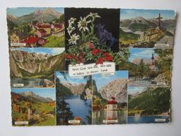 Berchtesgaden. Obersee. Maria Gern. Kehlsteindkreuz. Ramsau. Konigssee. St. Bartholoma. Hintersee - Berchtesgaden