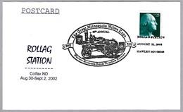 SEGADORA - Steam Threshers Reunion. Colfax ND 2002 - Agricultura