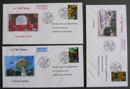 FRANCE - 2009 - PJ 4378 à 4383 - La Fête Foraine - FDC