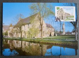 FRANCE - 2009 - PJ  4392 - Abbaye De Royaumont - FDC