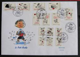 FRANCE - 2009 - PJ  ADH 355 à 368 - LE PETIT NICOLAS - FDC