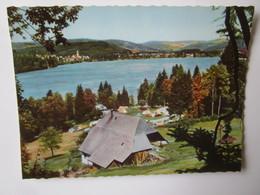 Titisee Im Schwarzwald. Seehausle Mit Campingplatz - Titisee-Neustadt
