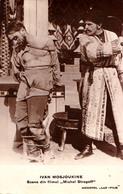 CINÉMA : IVAN MOSJOUKINE Dans MICHEL STROGOFF - CARTE VRAIE PHOTO : MONOPOL LUX FILM - ROUMANIE ( 1926 ) - RRR ! (aa669) - Actors