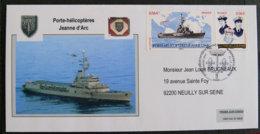 FRANCE - 2009 - PJ 4423 Et 4424 - PORTE HELICOPTERES JEANNE D ARC - FDC