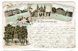 GROETEN Uit 's Gravenhage 1897 Color Litho - Den Haag ('s-Gravenhage)