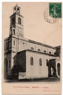 Brazey En Plaine (Brasey) : L'église (Editeur J. Gérin, Dijon, N°157) - France