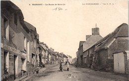 50 - MARIGNY --  Route De St Lo - France