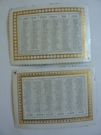 ALMANACH 1870 CALENDRIER  2 Semestriels  Chromo-Lithographie  Edit Bayoux Et Honoré - Calendars
