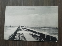 Wrak Van Het Aan De Hoek Van Holland Verongelukte S.S.Berlin Op 21 Februari 1907 - Hoek Van Holland