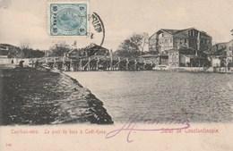 Turquie Constantinople Le Pont De Bois A Cade Keuy - Turquie