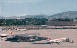Genève Cointrin, Le Nouvel Aéroport, Avions Swissair (592) - Aérodromes