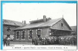 08-Sedan--Quartier Fabert-Les Cuisines-Corvée De Peluches-cpa  écrite - Sedan