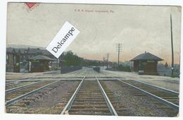 COPELAND (PA) - P.R.R. Depot -  (texte En Esperanto ?) - Etats-Unis