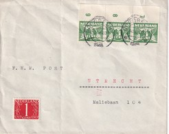 PAYS-BAS  1948 LETTRE DE DORDRECHT - Lettres & Documents