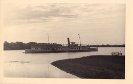 "BATEAU / SHIP "" REPUBLICA POPULARA "" On DANUBE [ SFÂNTU GHEORGHE ] - CARTE VRAIE PHOTO / REAL PHOTO ~ 1948 - RRR (aa671) - Roumanie"