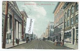 BRADDOCK (PA) - Braddock Ave.   -  (texte En Esperanto ?) - Etats-Unis
