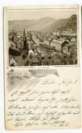 1891 Karlovy Vary GRUSS AUS Karlsbad Stadt W. Schütz -Zustand Siehe Scan - Czech Republic