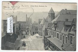 BRADDOCK (PA) - Library Street  -  (texte En Esperanto ?) - Etats-Unis