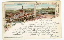 FRANKENMARKT Gruss Aus Farblitho Karl Schwidernoch 1899 - Andere