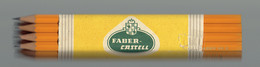 Botte De 12 Crayons Noirs Germany 1329 A.W. Faber N°2 (jamais Utilisés, Avec Emballage En Papier D'origine) - Andere Verzamelingen
