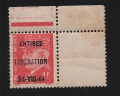 ANTIBES LIBERATION PETAIN 1F ** / MNH - Libération