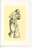 Jacques Callot 1592/1635 Dessinateur Graveur : Les Gueux - Vieux Mendiant à La Béquille (cp Vierge) - Illustratoren & Fotografen