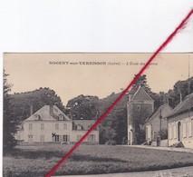 CP 45   -   NOGENT SUR VERNISSON  -   L'école Des Barres - France