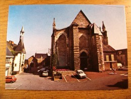 Carte Postale Herbignac La Mairie Et L'Eglise - Herbignac