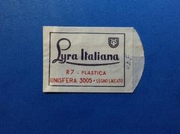 PUBBLICITÀ BUSTINA PUBBLICITARIA MATITE A SFERA LYRA ITALIANA JOB NERVI GENOVA - Pubblicitari