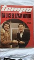 1979 TEMPO YUGOSLAVIA SERBIA SPORT FOOTBALL MAGAZINE NEWSPAPERS PARTIZAN ZVEZDA HAJDUK BOXING MUHAMMAD ALLI ROLLERSKATES - Deportes