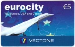 AUSTRIA F-523 Prepaid Vectone - Traffic, Airplane, Concorde - Used - Autriche