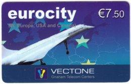 AUSTRIA F-524 Prepaid Vectone - Traffic, Airplane, Concorde - Used - Autriche