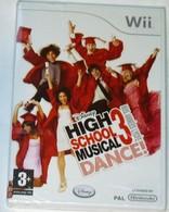 JEU NINTENDO Wii HIGH SCHOOL MUSICAL 3 DANCE (2008) DISNEY NEUF Sous BLISTER - Jeux électroniques