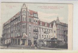 Hermann Kloske, Special Ausschank .. GLEIWITZ Wilhelmsstrasse - 1908 Beschädigungen Vorne - Schlesien