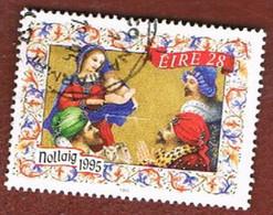 IRLANDA (IRELAND) - SG 978.980   - 1995 CHRISTMAS   - USED - 1949-... Repubblica D'Irlanda