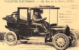 Automobile - Taxautos Electriques, 48 Rue De La Boétie, Paris - Cecodi N'P 192 - Voitures De Tourisme