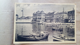 Yugoslavia, Croatia, Rijeka - Fiume - Riva Emanuele Filiberto (ex Provincie) -1940? - Jugoslavia