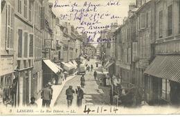 Langres La Rue Diderot - Langres
