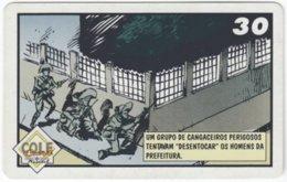 BRASIL H-251 Magnetic Telemar - Comics - Used - Brasilien