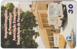 BRASIL H-267 Magnetic Telemar - Used - Brasilien