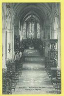 * Melsele (Beveren Waas - Gaverland) * (Uitg J. Smet) Binnenzicht Der Kerk, Intérieur De L'église, Church, Autel - Beveren-Waas
