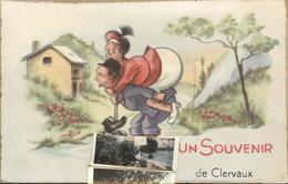 Themes Div-ref AA995- Carte Systeme A Tirette Multivues - Complet -illustrateurs - Illustrateur-souvenir De Clervaux - - Clervaux