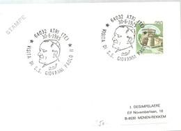 GIOVANNI PAOLO II ITALIA 1985 - Papas